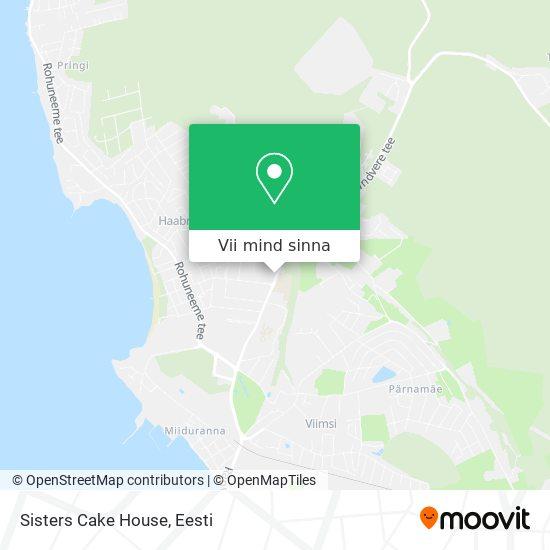 Sisters Cake House kaart