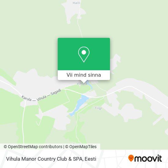 Vihula Manor Country Club & SPA kaart