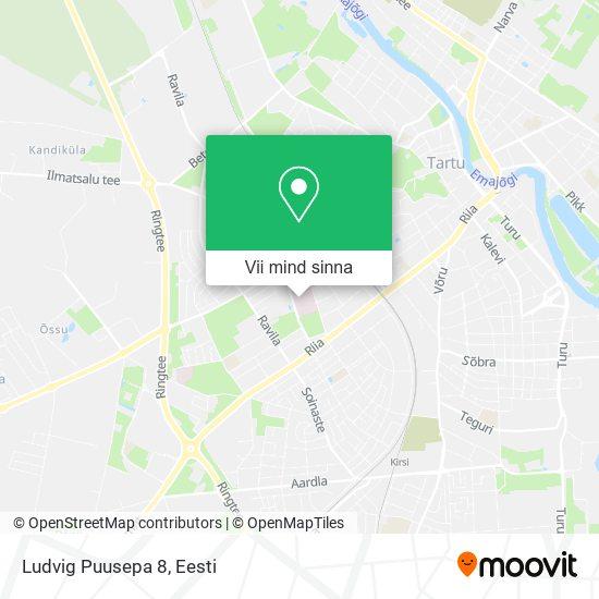 Ludvig Puusepa 8 kaart