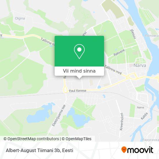 Albert-August Tiimani 3b kaart
