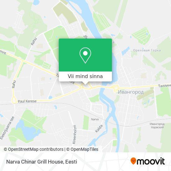 Narva Chinar Grill House kaart