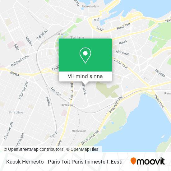 Kuusk Hernesto - Päris Toit Päris Inimestelt kaart