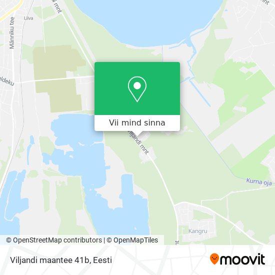 Viljandi maantee 41b kaart