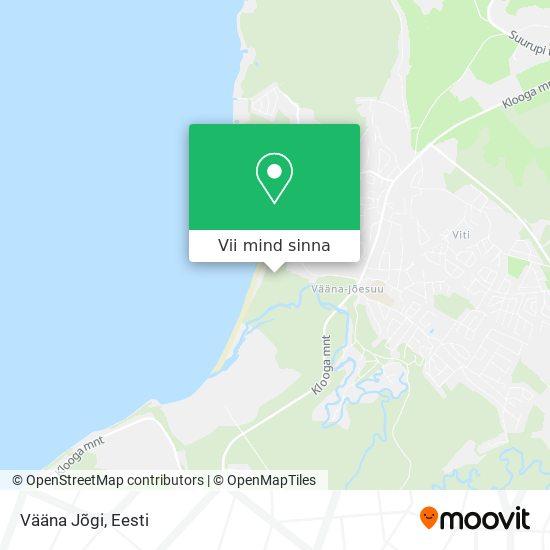 Vääna Jõgi kaart