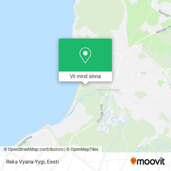 Reka Vyana-Yygi kaart