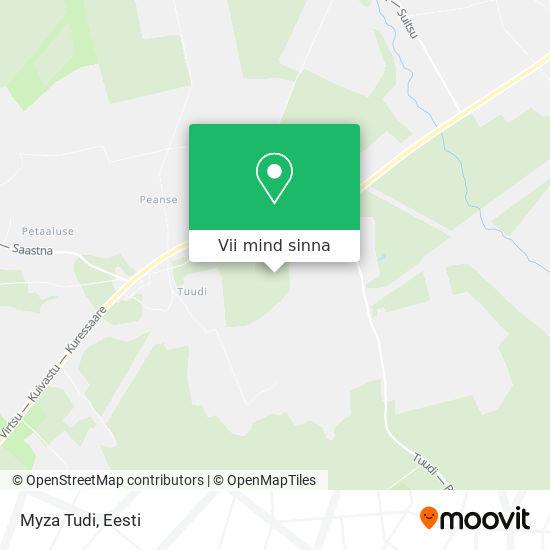 Myza Tudi kaart