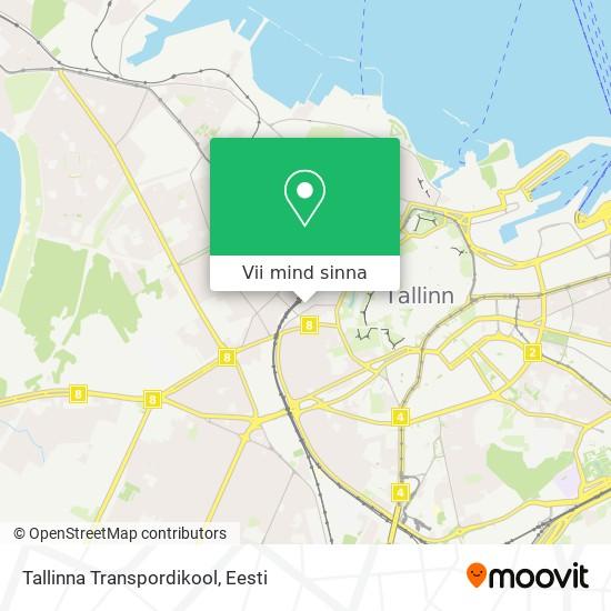 Tallinna Transpordikool kaart