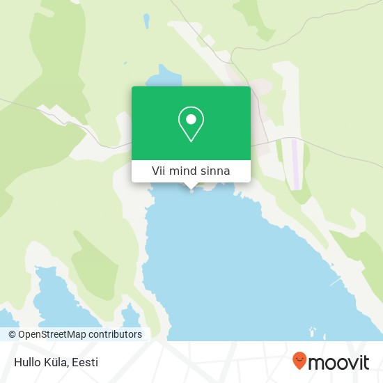 Hullo Küla kaart