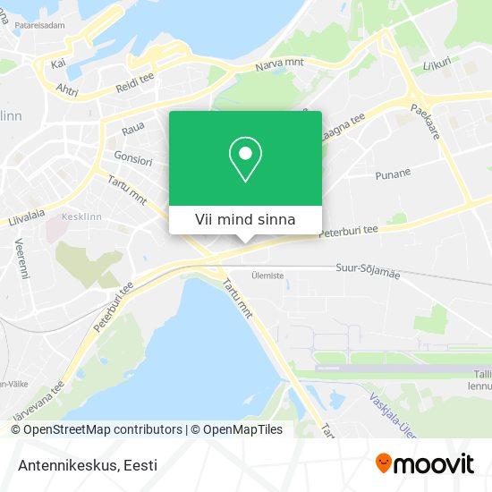 Antennikeskus kaart