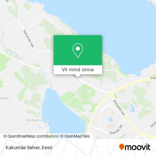 Kakumäe Selver kaart