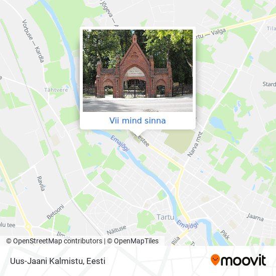 Uus-Jaani Kalmistu kaart