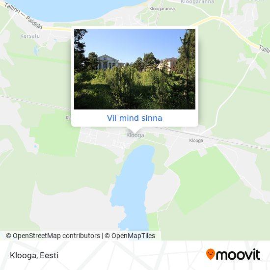Klooga kaart