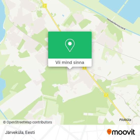 Järveküla kaart