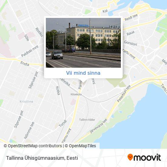 Tallinna Ühisgümnaasium kaart