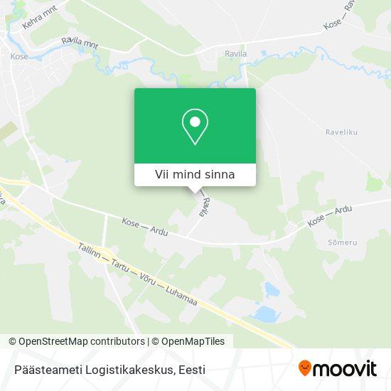 Päästeameti Logistikakeskus kaart