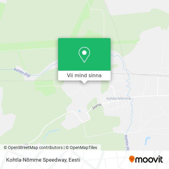 Kohtla-Nõmme Speedway kaart