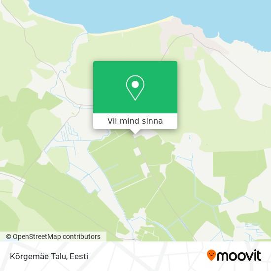 Kõrgemäe Talu kaart