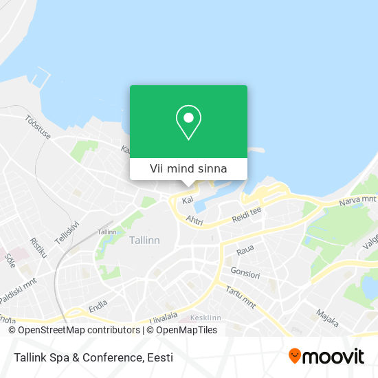 Tallink Spa & Conference kaart