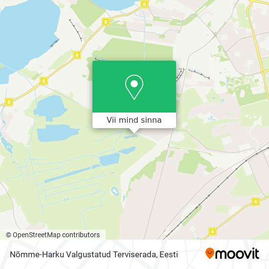 Nõmme-Harku Valgustatud Terviserada kaart
