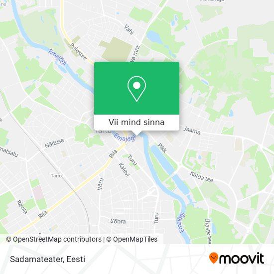 Sadamateater kaart