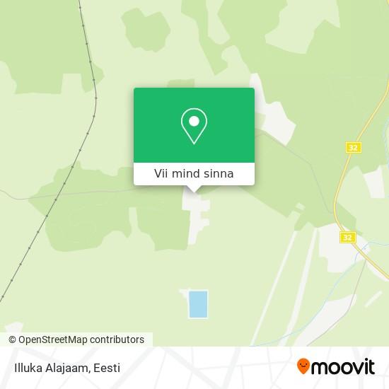 Illuka Alajaam kaart