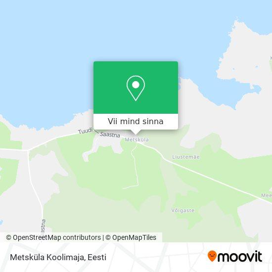 Metsküla Koolimaja kaart