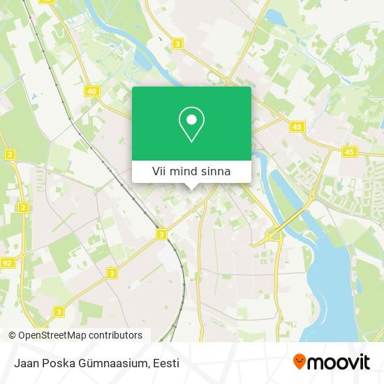 Jaan Poska Gümnaasium kaart