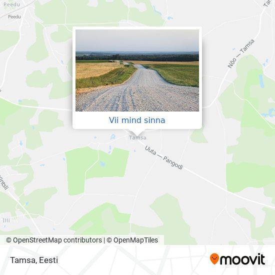 Tamsa kaart