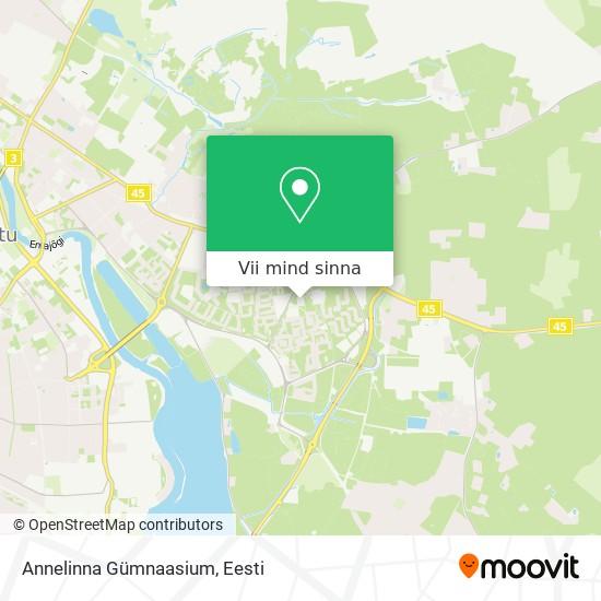 Annelinna Gümnaasium kaart