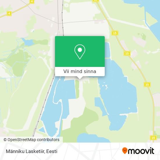 Männiku Lasketiir kaart