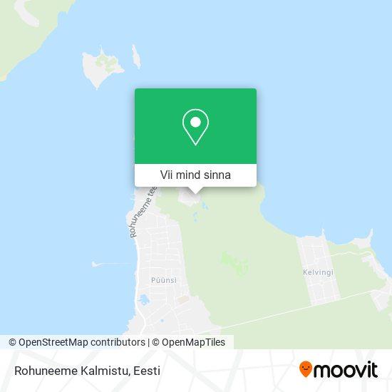Rohuneeme Kalmistu kaart