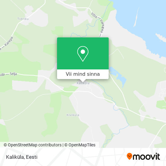 Kaliküla kaart