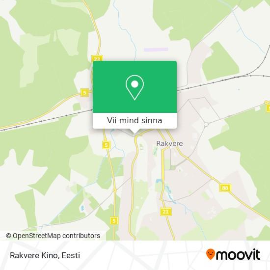 Rakvere Kino kaart