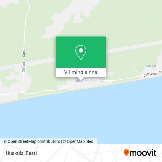 Uusküla kaart