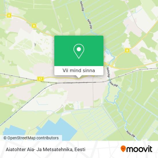Aiatohter Aia- Ja Metsatehnika kaart