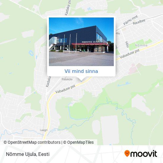 Nõmme Ujula kaart