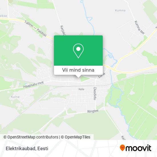 Elektrikaubad kaart