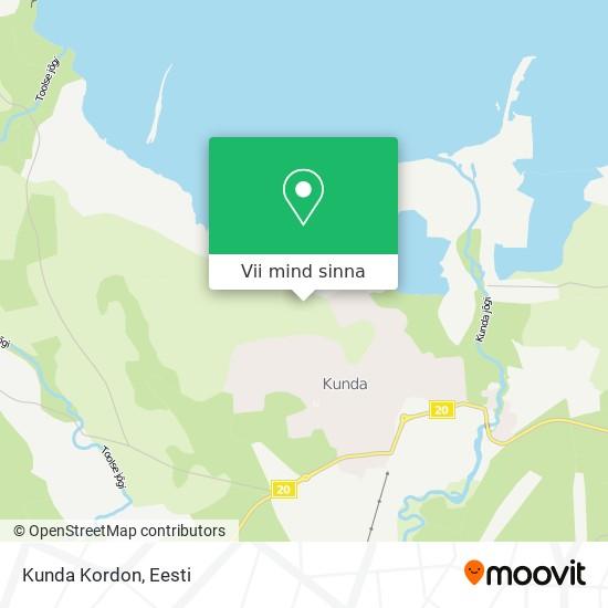 Kunda Kordon kaart