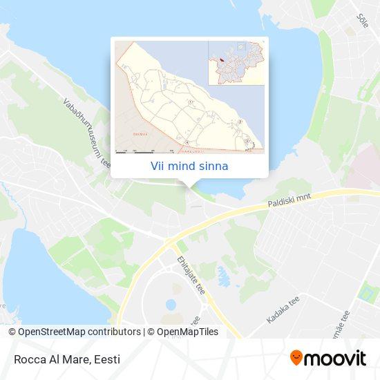 Rocca Al Mare kaart