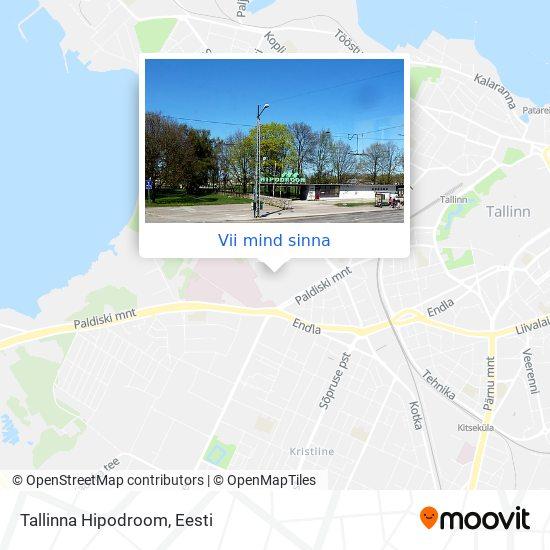 Tallinna Hipodroom kaart