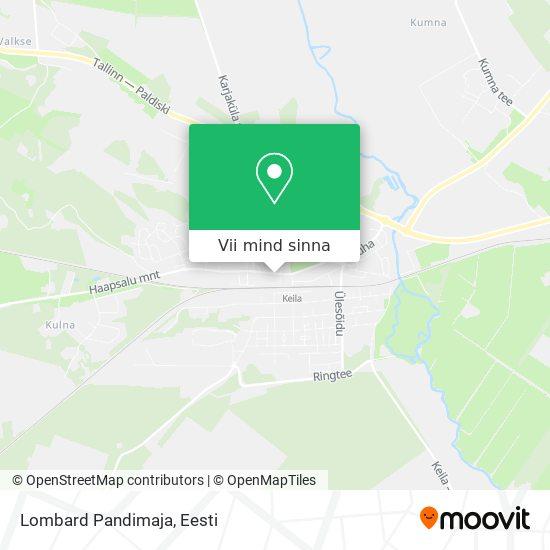 Lombard Pandimaja kaart