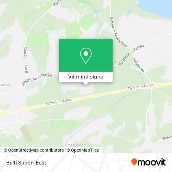 Balti Spoon kaart