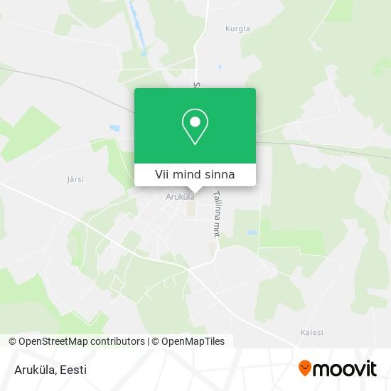 Aruküla kaart