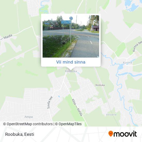 Roobuka kaart