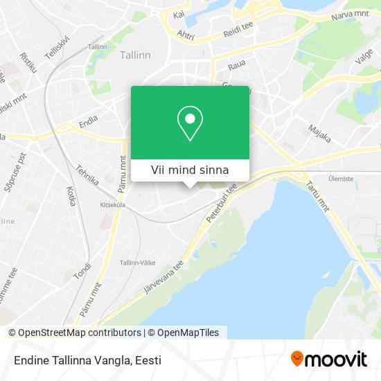 Tallinna Vangla kaart