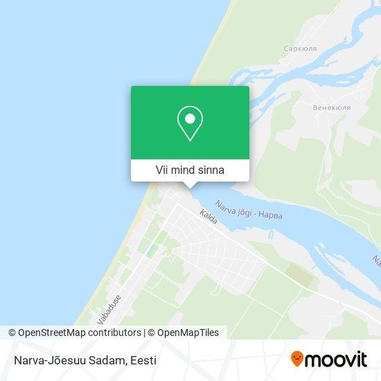 Narva-Jõesuu kaart
