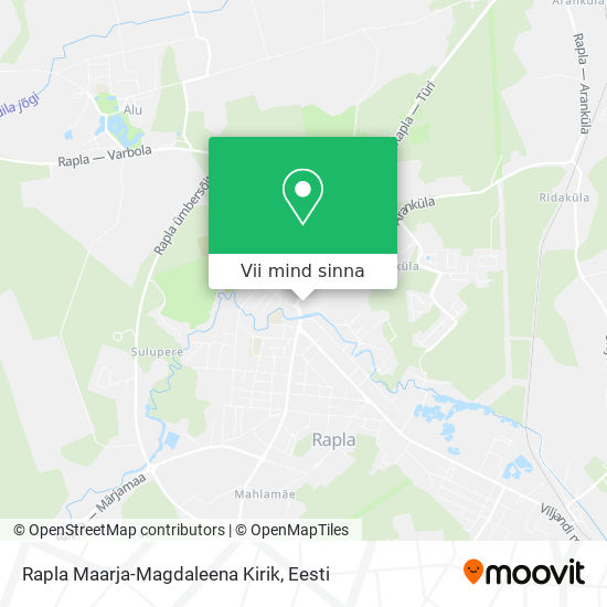 Rapla Kirik kaart