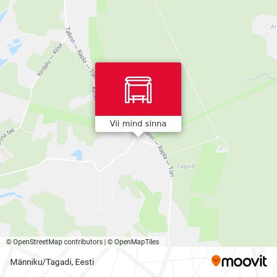 Männiku/Tagadi kaart