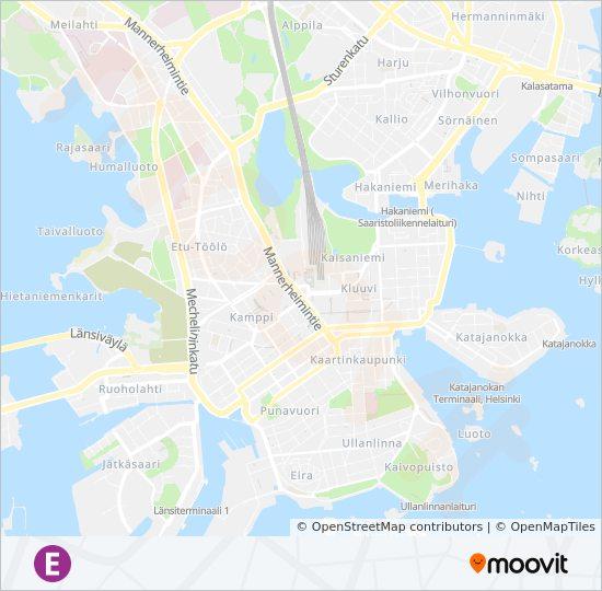 Juna Aika Taulu Helsinki