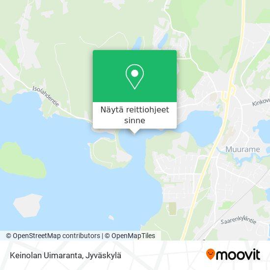 Keinolan Uimaranta kartta